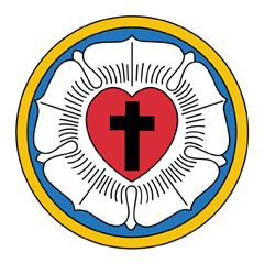 The Luther Rose is a popular symbol for Lutheranism. Click on the image to learn more.